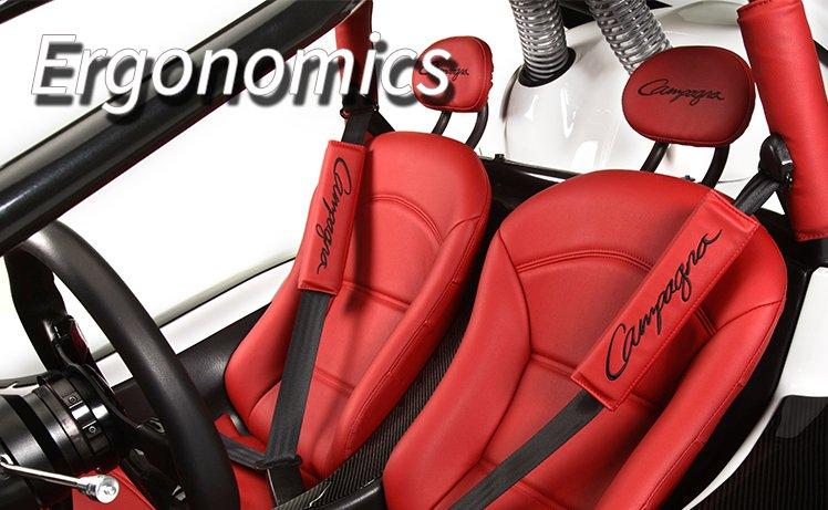 T-REX 16S Ergonomics