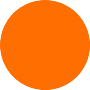 Orange flamboyant (mat)
