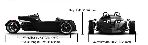 V13R Dimensions