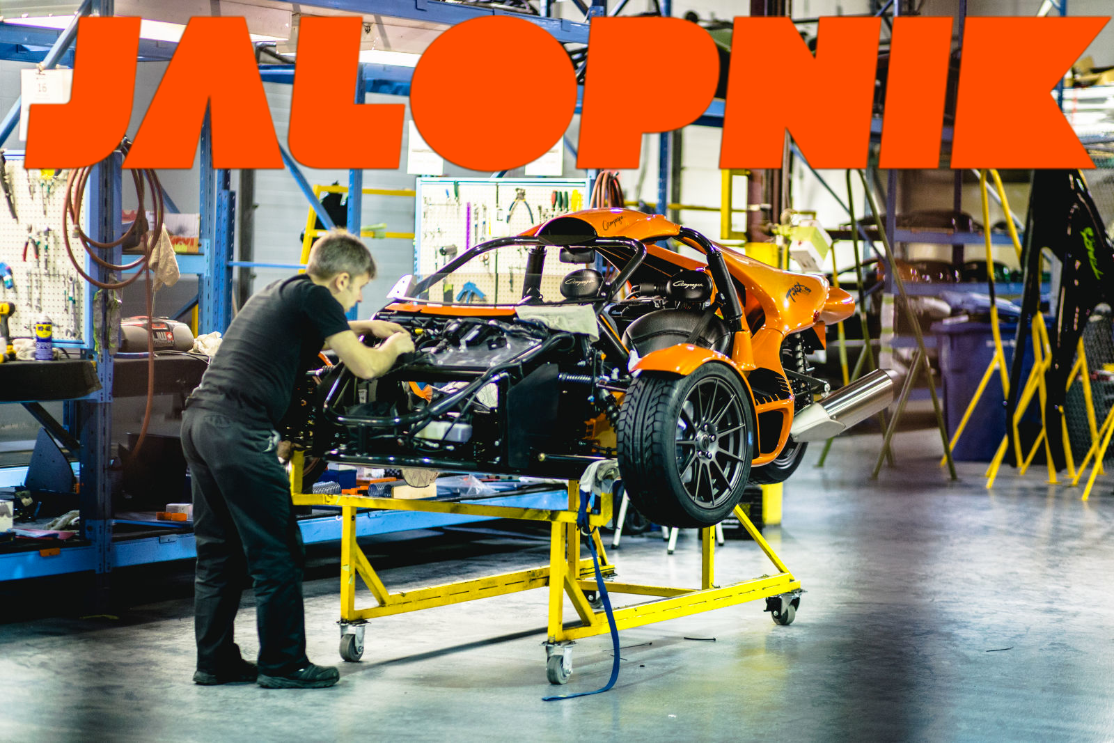 Jalopnik: One Of The Craziest Things On Three Wheels Comes From This Canadian Factory