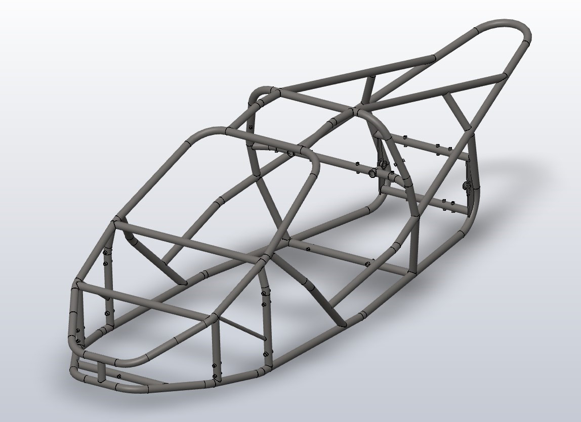 T-REX RR CHASSIS 3D
